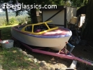 1957 skagit 17 foot convertible inboard