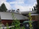 Two 1946 Truscott 24' Express Cruisers